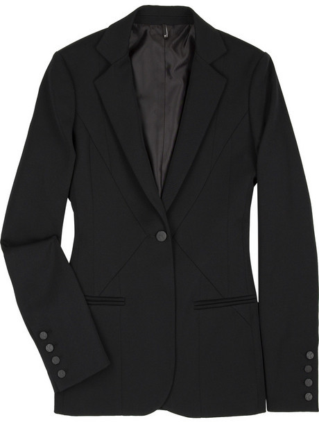 K Karl Lagerfeld Tailored wool-blend jacket