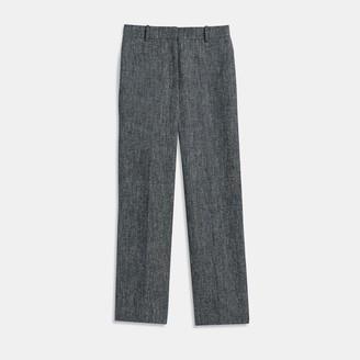 High-Waisted Straight Pant