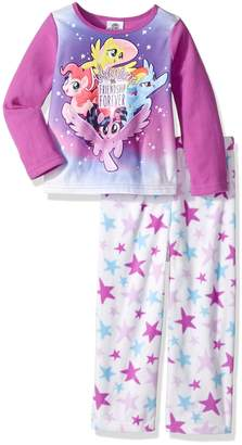 My Little Pony Toddler Girls' 2-Piece Fleece Pajama Set