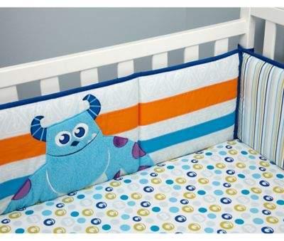DisneyDisney® Monsters at Play 4-Piece Crib Bumper