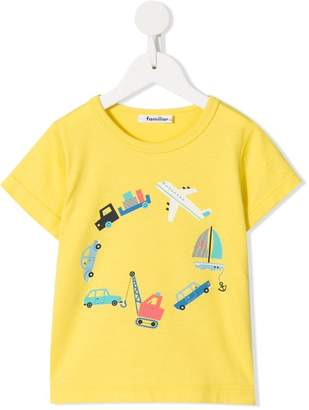 Familiar printed T-shirt