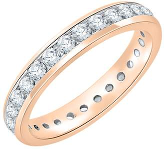N. KATARNA Damond Eternty Band 10K Rose Gold (7/8 cttw) (-Color, S3-1 Clarty) (Sze-5)
