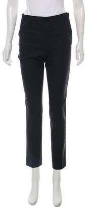 Hermes Mid-Rise Straight-Leg Pants