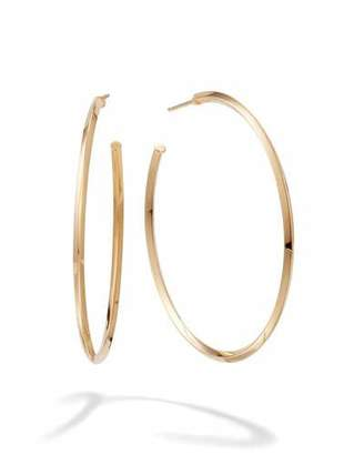 Lana 45mm Thin Pointed Royale Hoops