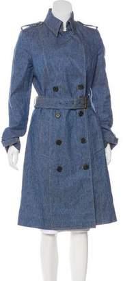 Derek Lam Linen Long Coat
