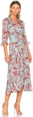 SALONI Edith Dress $595 thestylecure.com