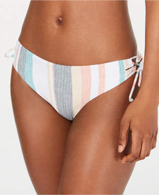 Roxy Juniors' Beach Striped Bikini Bottoms Women Swimsuit