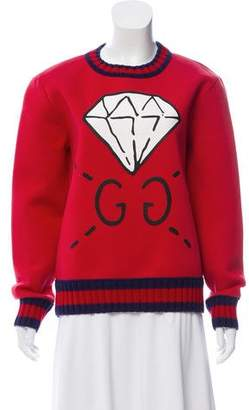 Gucci Diamond Print Sweatshirt