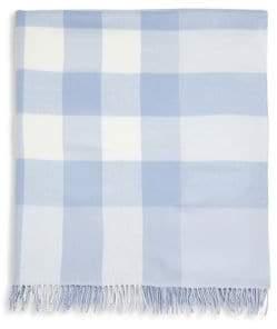 Burberry Mega Check Merino Wool Baby Blanket