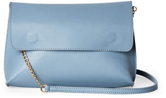Street Level Blue Flap Convertible Crossbody