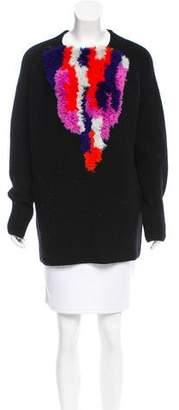Thakoon Wool Rib Knit Sweater