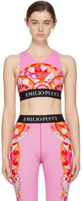 Emilio Pucci Pink Nigeria Bra