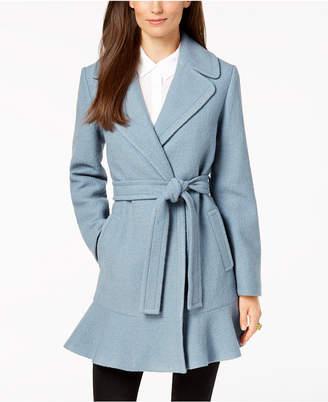 Kate Spade Ruffled Wrap Coat