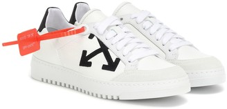 Off-White Off White Carryover leather sneakers