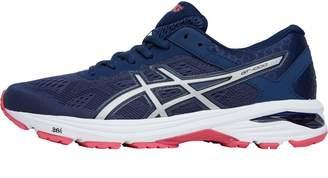 meet 7f59b 65a03 Asics Womens GT-1000 6 Mild Stability Running Shoes Insignia Blue Silver  Rouge