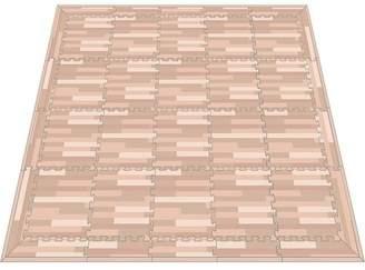 リトルプリンセス Little Princess 抗菌フロアーマット ナチュラルウッド スモールパッケージ (正方形マット20枚、エッジマット10枚、コーナーマット8枚)
