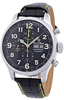 "Ernst Benz Chronoscope"" Stainless Steel Mens Strap Watch 47mm"