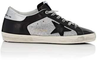 Golden Goose Women's Superstar Leather & Glitter Sneakers