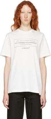 Yang Li White Alternative Discography T-Shirt