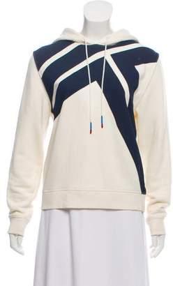 Tory Sport Long Sleeve Hooded Sweatshirt