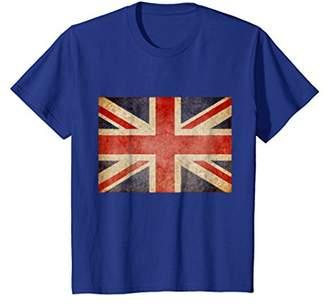 PREMIUM Union Jack T-shirt Vintage UK Flag British Retro