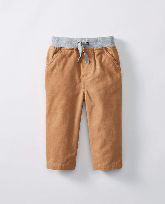 Chino Pants In Sueded Twill