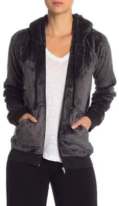 PJ Salvage Cozy Hooded Zip Jacket