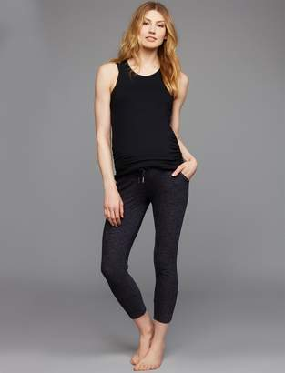 A Pea in the Pod Beyond The Bump Fold Over Belly Jogger Maternity Active Pants