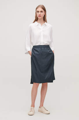 Cos DRAPED DOUBLE-LAYERED SKIRT