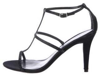 Lauren Ralph Lauren Satin Embellished Sandals