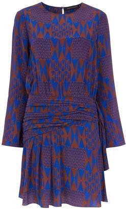 Andrea Marques silk printed dress