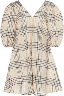 Ganni Poplin Sleeveless Dress