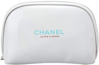Chanel Limited Edition White Cosmetic Bag