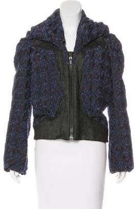 Hussein Chalayan Textured Zip-Up Jacket