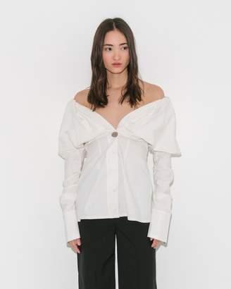 Paris Georgia Basics White Jack Shirt