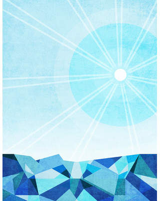 Zatista Limited Edition 'Under the Sky signs' by Niki Bradley Graphic Art