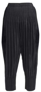 Pleats Please Issey Miyake Fluffy Basics Jogger Pants