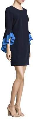 Milly June Ruffle Sleeve Dress