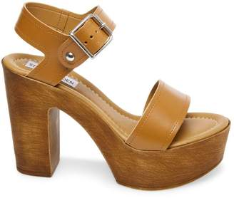 Steve Madden Stevemadden POTION COGNAC LEATHER