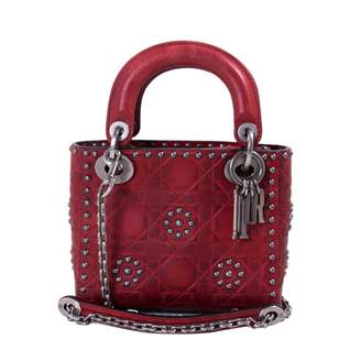Christian Dior Lady leather crossbody bag