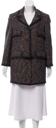 Chanel Wool-Blend Coat w/ Tags