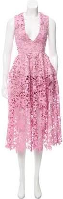 Nicholas Guipure Lace Sleeveless Dress