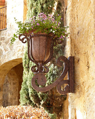 Outdoor wall planters shopstyle madrigal wall planter workwithnaturefo