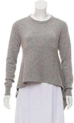 Alexander McQueen Asymmetrical Cashmere Sweater