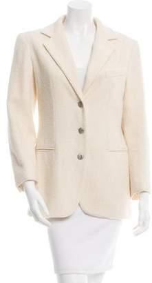 Chanel Wool & Mohair-Blend Blazer