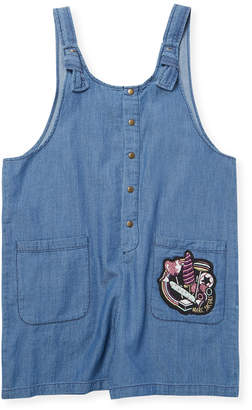 Little Marc Jacobs Denim Romper