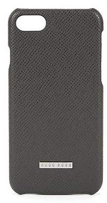 HUGO BOSS Signature Collection smartphone case in palmellato leather
