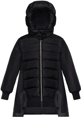 11f8656bc Moncler Long Down Jacket - ShopStyle