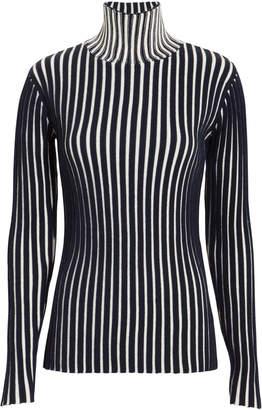 Victoria Beckham Victoria, Striped Knit Top