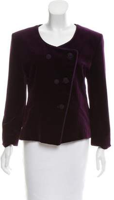 Christian Dior Structured Velvet Blazer